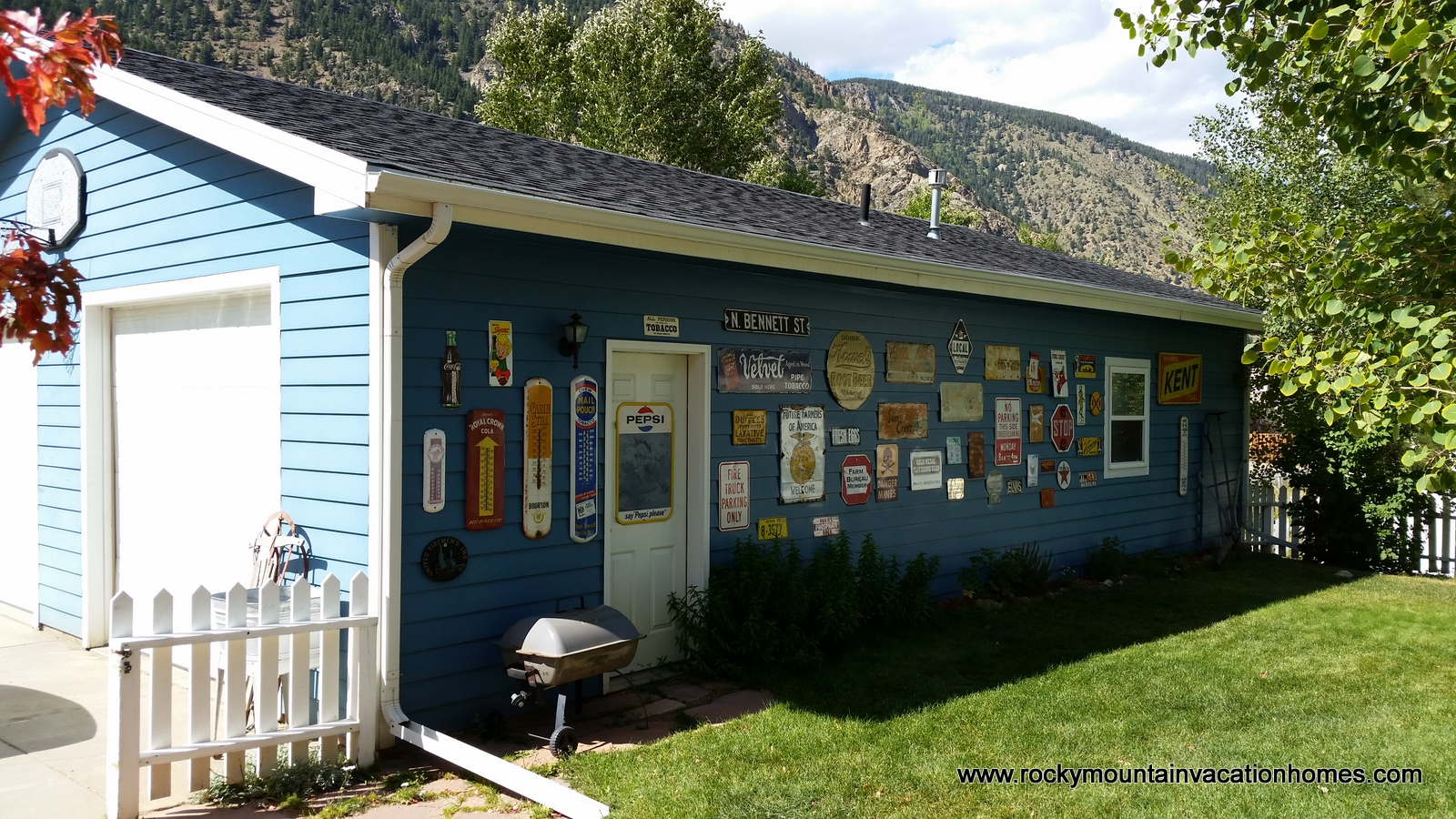 garage rocky mountain vacation homes